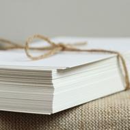 爱欧常用纸张-白卡纸