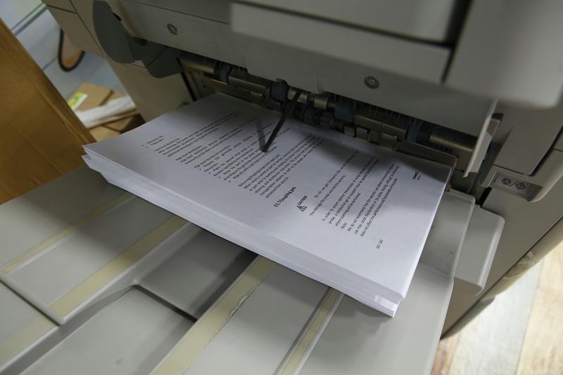 数码复印打印